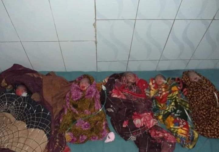 নরমাল ডেলিভারীতে এক গর্ভবতী মা ৫ সন্তানের জন্ম দিয়েছে